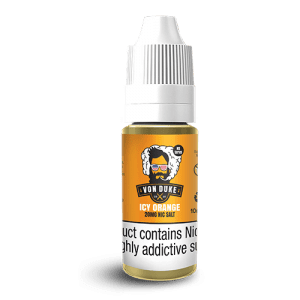Von Duke 10ml Nic Salts Icy Orange