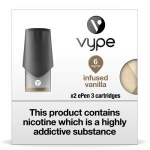 Vype ePen 3 Pods – Infused Vanilla – Pack of 2