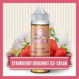 Bakers Fog 100ml Strawberry Doughnut Ice Cream