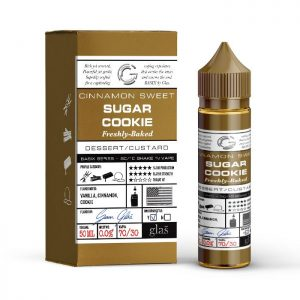 Glas Basix 50ml Short Fill: Sugar Cookie