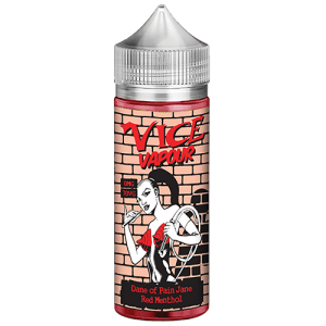 Vice Vapour Red Menthol 80ml : Dane of Pain Jane