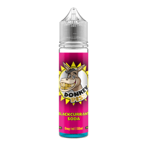 Donkey Piss – Blackcurrant Soda – 50ml Short Fill