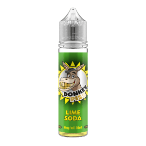 Donkey Piss – Lime Soda – 50ml Short Fill