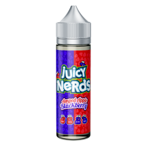 Juicy Nerds: Amped Apple & Blackberry – 50ml