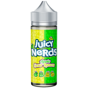 Juicy Nerds: Apple & Sour Lemon – 100ml
