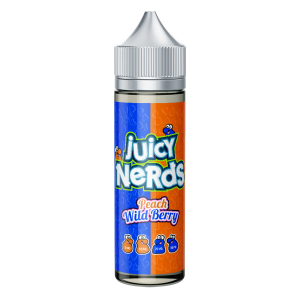 Juicy Nerds: Sour Wild Berry & Peach – 50ml