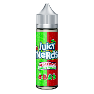 Juicy Nerds: Wild Cherry & Watermelon – 50ml