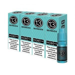 13th Floor Elevapors Bermuda Pack of 4 10ml
