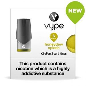 Vype ePen 3 Pods – Honeydew Splash – Pack of 2