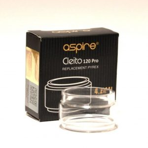 Aspire Cleito 120 Pro 4.2ml Fat Boy Replacement Glass