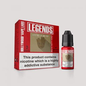 Legends Multipack: Cute and Buff Milk n Nutty Honey 3 x 10ml Best Before end Dec 2018