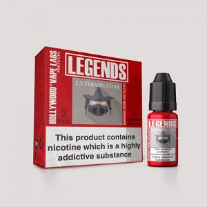 Legends Multipack:  Exterminator Bavarian Cream Cantaloupe – E-Liquids 3 X 10ml Best Before end Dec 2018
