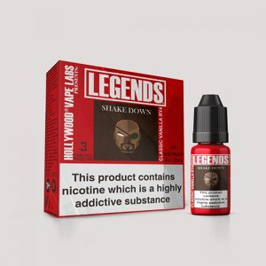 Legends Multipack: Shake Down Classic Vanilla RY4 3 x 10ml Best Before end Dec 2018