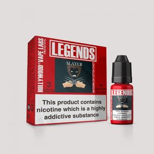Legends Multipack: Slayer Watermelon Cotton Candy 3 x 10ml Best Before end Dec 2018