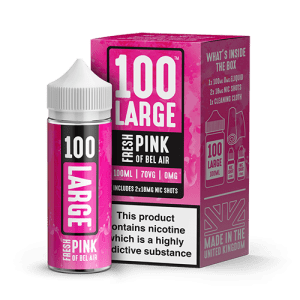 100 Large: Fresh Pink of Bel Air E-Liquid 100ml