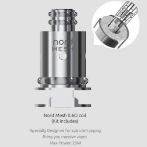 SMOK Nord 0.6 Ohm Mesh Coil 5 Pack