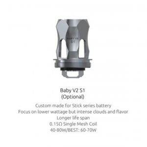SMOK V8 Mini/Baby V2 S1 0.15 Ohm Coils £4 Each