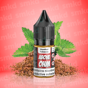 Above Ohm 10ml Menthol Tobacco MTL