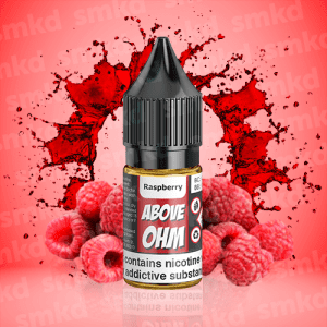 Above Ohm: Raspberry – 10ml – MTL