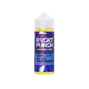 Rockt Punch: Blu Rza Thunderbomb – 100ml Shortfill