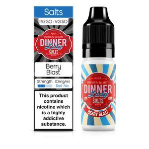 Dinner Lady Nic Salt: Berry Blast 50/50 – 10ml E-Liquid – 10mg & 20mg