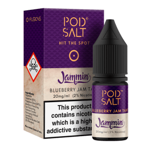 Pod Salt 10ml Blueberry Jam Tart