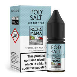 Pod Salt 10ml Strawberry Kiwi Ice