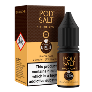 Pod Salt 10ml Lemon Cake