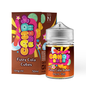 Candy Rush 50ml Fizzy Cola Cubes