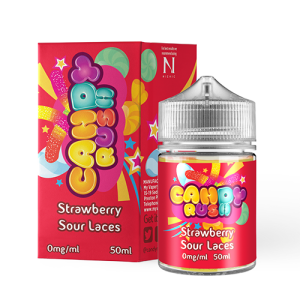Candy Rush 50ml Strawberry Sour Laces