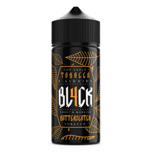 BL4CK 100ml Butterscotch Tobacco